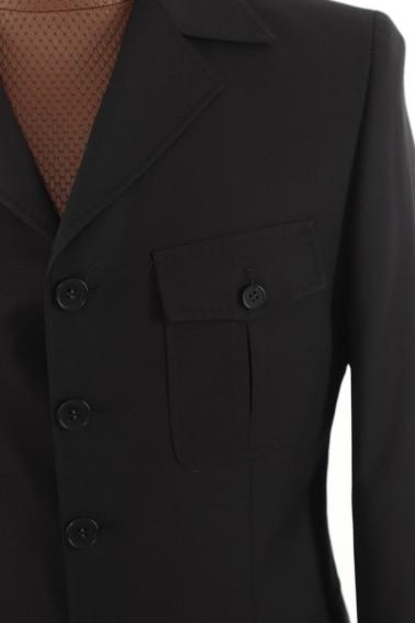 Black Safari Men's Suit