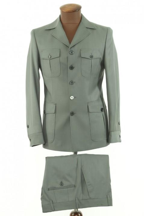 Light green Safari Men's Suit