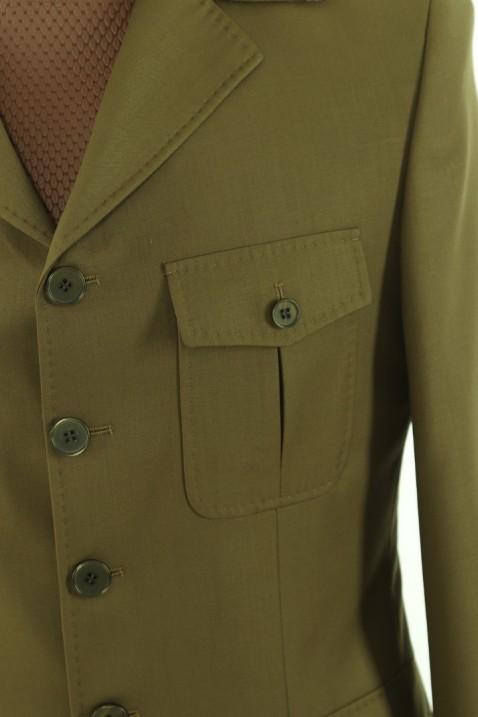 Green Safari Men's Suit