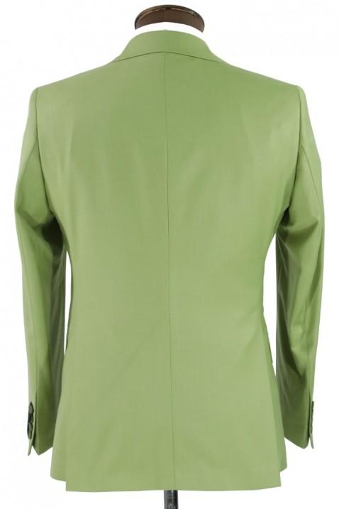 Light green Vest Men's Suit