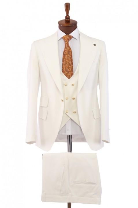 White Vest Men's Suit
