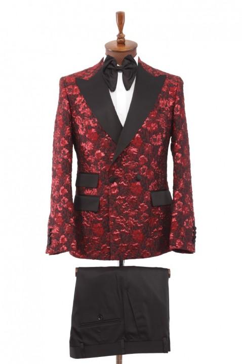 Red Tuxedo Men's Suit